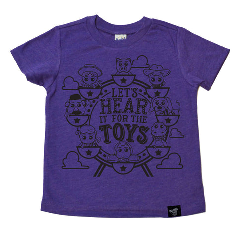 THE TOYS PURPLE TEE
