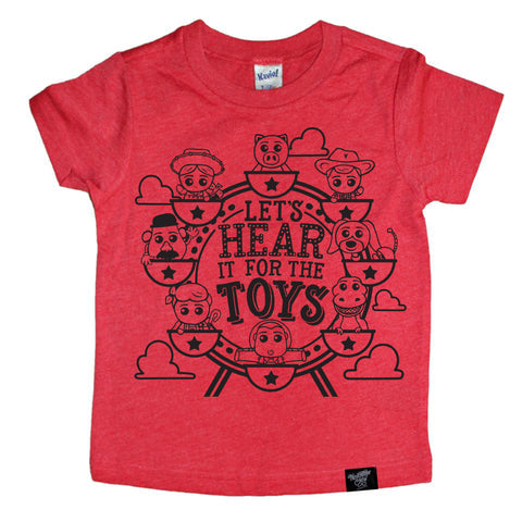 THE TOYS RED TEE
