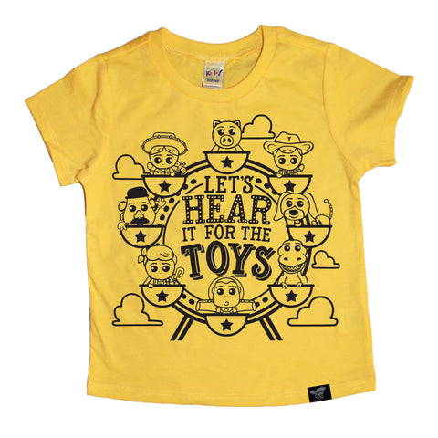 THE TOYS YELLOW TEE