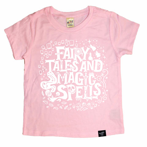 LIMITED EDITION FAIRY TALES PINK TEE