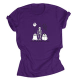 BAD FEELING PURPLE TEE