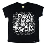 FAIRY TALES BLACK TEE