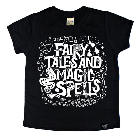 LIMITED EDITION FAIRY TALES BLACK TEE