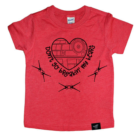 BREAKIN' HEARTS RED TEE