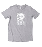 BUNNY TRAIL GRAY TEE
