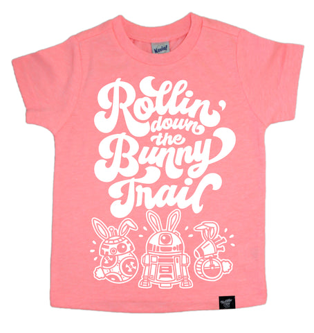 BUNNY TRAIL CORAL TEE
