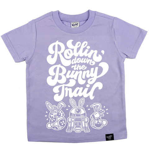 BUNNY TRAIL LAVENDER TEE