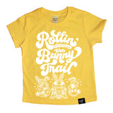 BUNNY TRAIL YELLOW TEE
