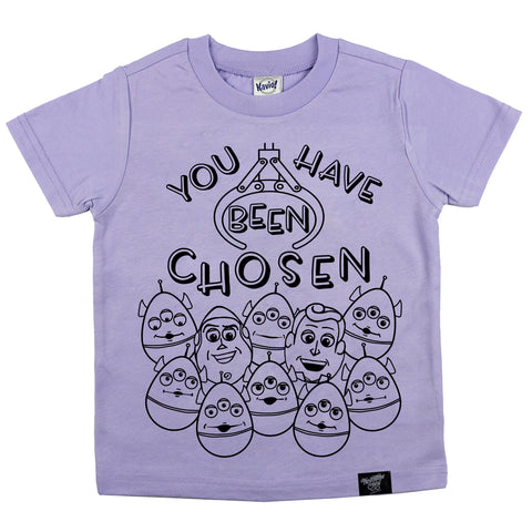 THE CLAW LAVENDER TEE