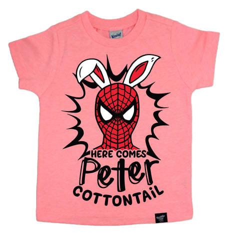 COTTONTAIL CORAL TEE