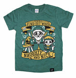 DUMBLE CLAUS GREEN TEE