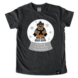 WINTER WONDERLAND CHARCOAL TEE