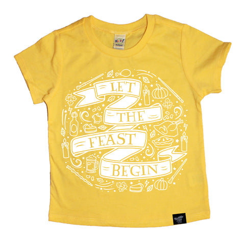 FEAST YELLOW TEE