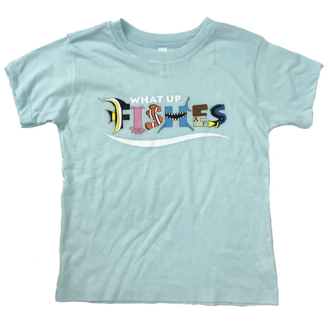FISHES ICE BLUE TEE