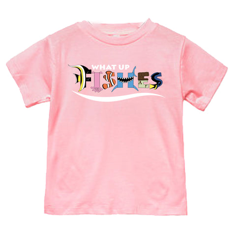 FISHES PINK TEE