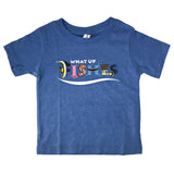 FISHES HEATHER BLUE TEE