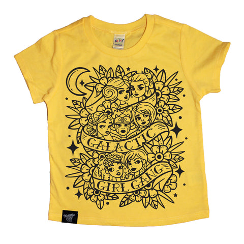 GIRL GANG YELLOW TEE