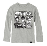 JINGLE BELLS LONG SLEEVES GRAY