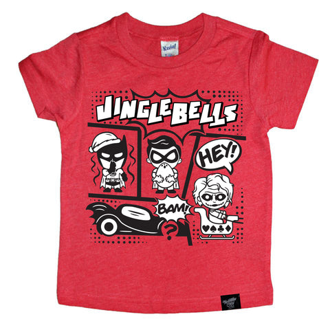 JINGLE BELLS RED TEE