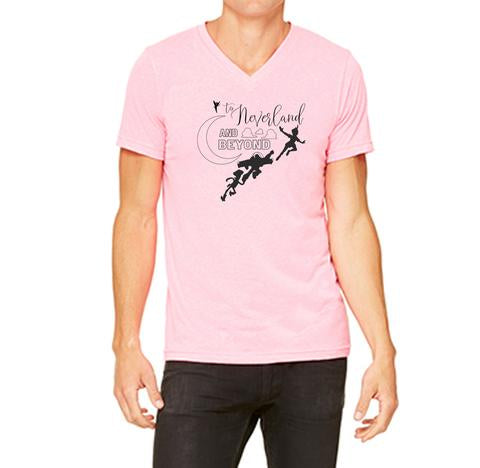 NEVERLAND AND BEYOND PINK TEE