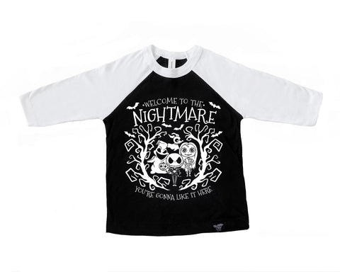 NIGHTMARE RAGLAN