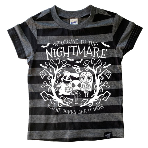 NIGHTMARE STRIPE TEE