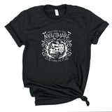 NIGHTMARE CHARCOAL BLACK TEE