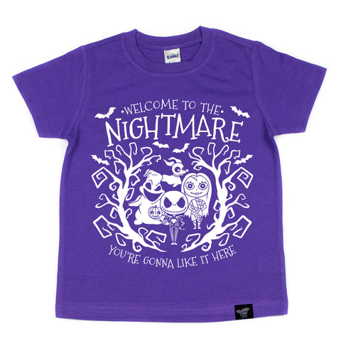 NIGHTMARE PURPLE TEE