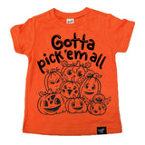 PICK 'EM ALL ORANGE TEE