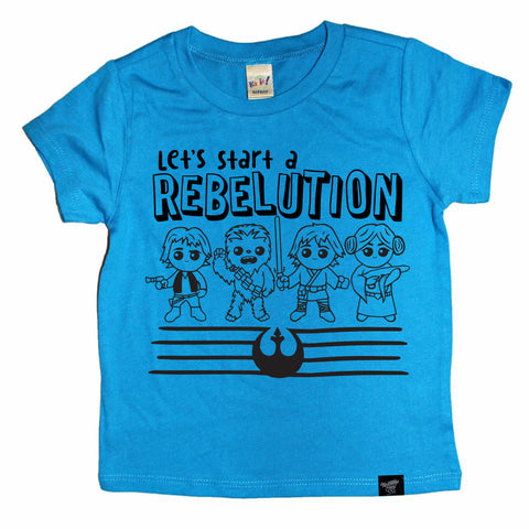 REBELUTION BLUE TEE