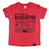 REBELUTION RED TEE