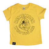 REMEMBER YELLOW TEE
