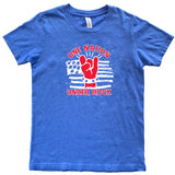 ROCK NATION BLUE TEE