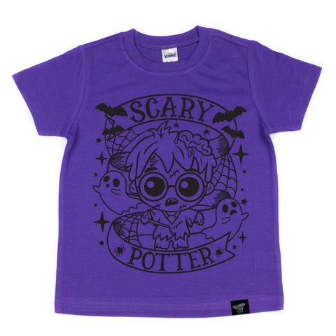 SCARY HARRY PURPLE TEE