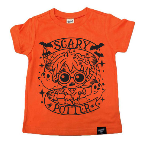 SCARY HARRY ORANGE TEE