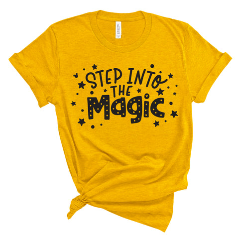 INTO THE MAGIC YELLOW TEE