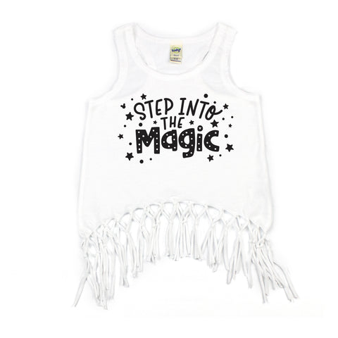INTO THE MAGIC FRINGE TANK