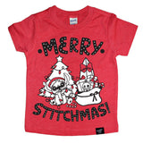 STITCHMAS RED TEE