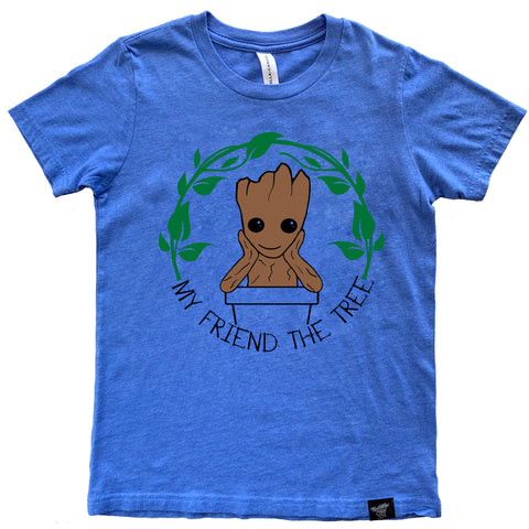 THE TREE BLUE TEE