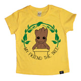 THE TREE YELLOW TEE