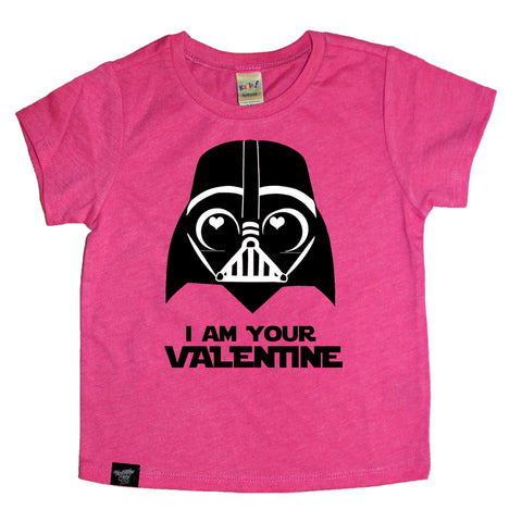 I AM YOUR VALENTINE PINK TEE