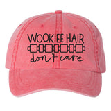 WOOKIEE HAIR DAD HAT (MORE COLORS)