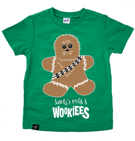 MILK & WOOKIEES GREEN TEE