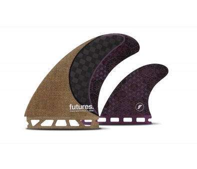 HONEYCOMB TWIN FIN - RASTA 2+1