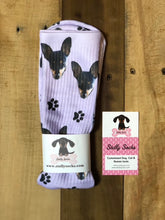 Load image into Gallery viewer, Dog or Cat Face Socks, Pup socks, Custom Face Socks