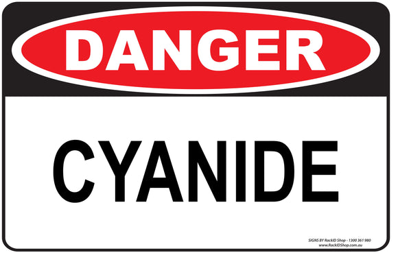 CYANIDE OUTDOORS-Signs-RackID Shop
