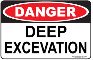 DEEP EXCEVATION OUTDOORS-Signs-RackID Shop