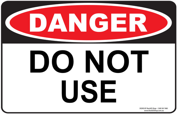 DO NOT USE - Signs - RackID Shop