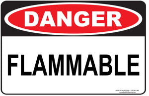 FLAMMABLE OUTDOORS-Signs-RackID Shop