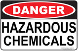 HAZARDOUS CHEMICALS-Signs-RackID Shop